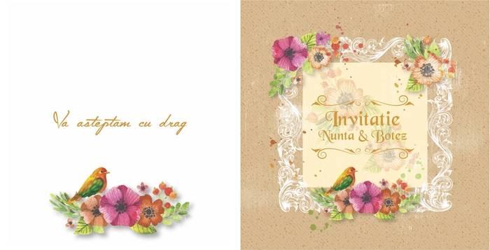 Invitatii De Botez Sau Nunta 2 In 1 Preturi Ieftine